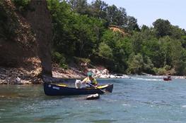 Kayak sulla Stura di Lanzo. Foto tratta da http://www.paddlingitaly.com