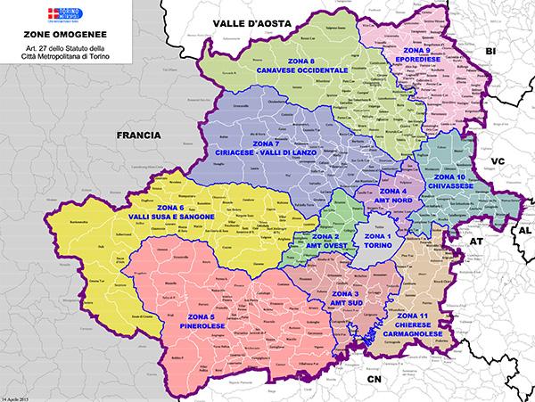 Cartina Piemonte Torino.Urp Citta Metropolitana Di Torino